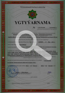 Construction Licences in Turkmenistan