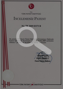High Performance Cement Patent – Turkey