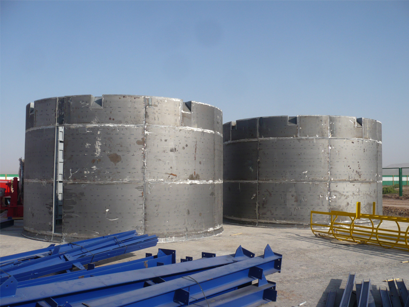 Shafts Sinking Complex for Potassium Chloride Mining and Processing Plant